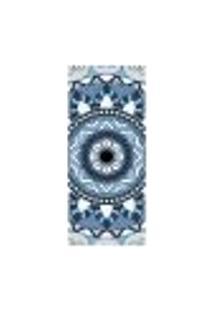 Adesivo Decorativo De Porta - Mandala - 2046Cnpt