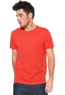Camiseta Richards Básica Laranja