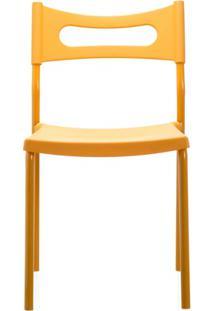 Cadeira Em Polipropileno Easy 41X49Cm Laranja