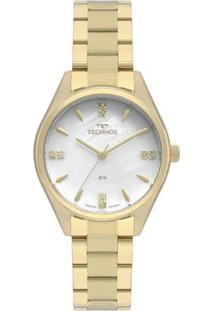 Relógio Technos Elegance Boutique Feminino - Feminino-Dourado