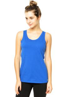 Regata Nike Sportswear Embrd Swoosh Azul