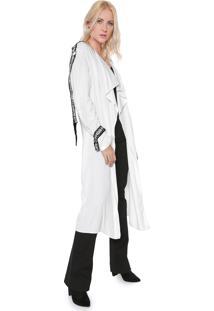 Kimono Lança Perfume Soy Mujer Branco