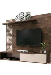"Home Suspenso Grid Para Tvs Até 50"" Deck/Off White"