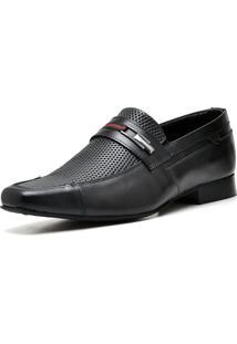 Sapato Social Top Franca Shoes Executivo Preto
