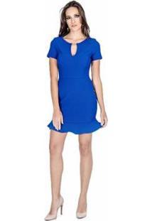 Vestido Sino Colcci - Feminino-Azul