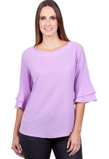 Blusa Love Poetry Lilas