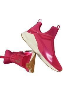 8cbde3a3cb7 Fut Fanatics. Calçado Tênis Feminino Eva Duas Alças Vr Puma Rosa Conforto  Fierce