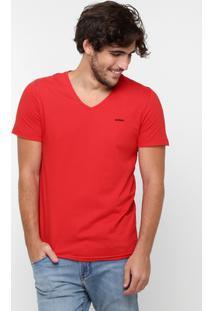 Camiseta Sommer Básica - Masculino-Vermelho