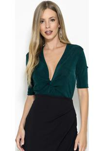 Body Verde Lurex