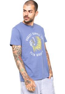 Camiseta Oakley Suply 2.0 Azul