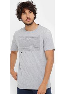 Camiseta Wg Silk Line Masculina - Masculino