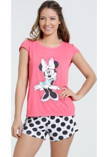 Pijama Feminino Short Doll Mickey Disney