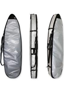Capa Dupla 6'4 A 6'7 Sarcófago 2 Pranchas De Surf Maori Extreme Refletiva Prata
