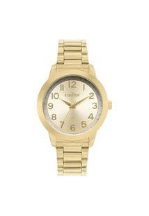 Relógio Condor Feminino Dourado Analógico Co2039Bis4D