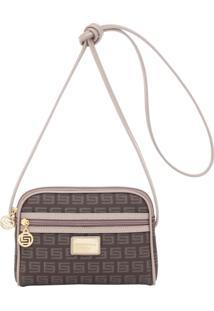 Bolsa Transversal Smartbag Milano Caqui - Tricae