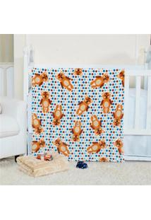 Cobertor Manta Bebe Baby Flannel Fofo - Kalu