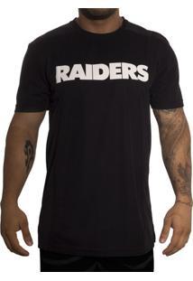 Camiseta New Era Recortes Oakland Raiders