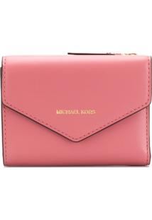 Michael Michael Kors Carteira Envelope - Rosa