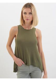Regata Le Lis Blanc Luma Iv Tricot Verde Feminina (Olive, M)