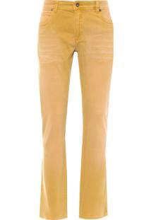Calça Masculina Color Denim - Marrom