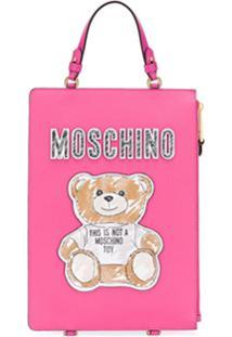 Moschino Mochila Teddy Bear - Rosa