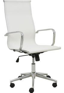 Cadeira Alta Oficce Pu Sevilha -Rivatti - Branco