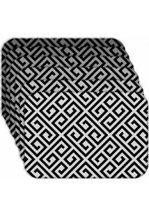 Jogo Americano Wevans Geométrico Kit Com 4 Pçs Love Decor