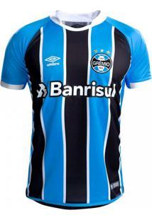 Camisa Masculina Umbro Grêmio Oficial Mundial 2017 (Fan)