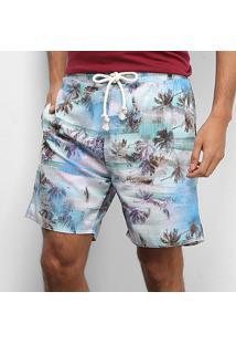 Short Gajang Floral Tropical Masculino - Masculino