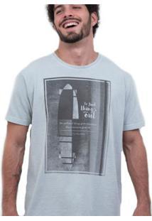 Camiseta Limits Laundry Mondrian Skate Masculina - Masculino-Gelo
