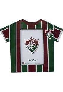 Porta Retrato Minas De Presentes Camisa Futebol Foto 10X15Cm - Fluminense Colorido