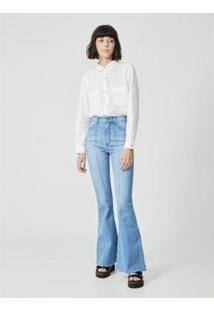Calça Jeans Amapô Boca De Sino Wanda Feminina - Feminino