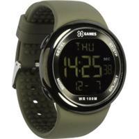 e282f2f507e Relógio Digital X Games Xmppd439 - Masculino - Marrom Claro
