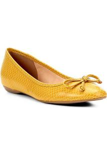 Sapatilha Shoestock Cobra Laço Feminina