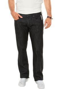 Calça Jeans Forum Reta Preta