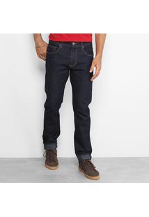 Calça Jeans Slim Forum Paul Masculina - Masculino-Jeans