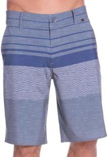 Bermuda Elastano Vlcs 18451 Masculina - Masculino-Azul
