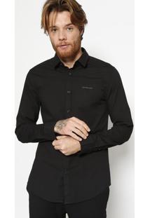 Camisa Slim Fit Lisa - Pretacalvin Klein