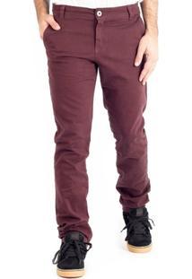 Calça High Life Sarja Chino Purple - Masculino