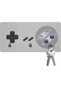 Porta Chaves Ecologico Gamer Joystick 16-Bits
