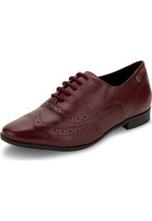 Sapato Feminino Oxford Bottero - 315104 Vinho 36