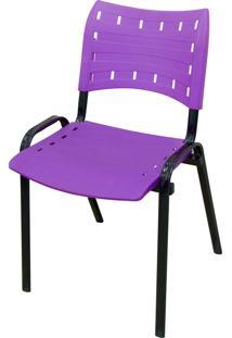 Cadeira Isomix Preto/Roxo Açomix