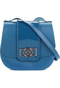 77c540824 R$ 129,90. Zattini Bolsa Transversal Feminina Azul ...