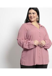 Camisa Lisa- Rosa- Pianetapianeta