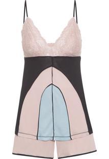 Pijama Feminino Malha Mia - Rosa