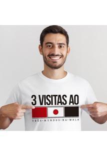 Camiseta Zé Carretilha - Sao-Tricolor-Japao Masculina - Masculino