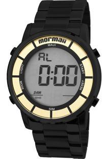 E Clock. Relógio Feminino Aço Dobrável Tamanho Grande Digital Technos  Mormaii ... 6cc8c5160c