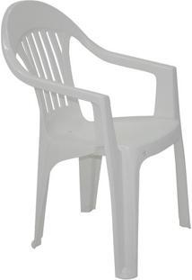 Cadeira Imbã©- Branca- 84X56X59,5Cm- Tramontinatramontina