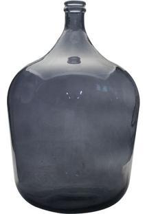 Garrafa Decorativa- Azul- 56Xø40,5Cmdynasty
