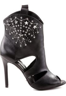 Ankle Boot Preta Stars | Schutz